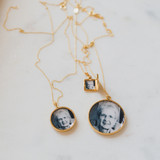 Gold Lockets of Grandmother on Mother's Day for Mom