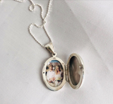Locket for Best Friend Who Misses Her Missing Dad