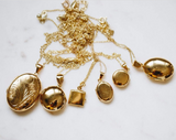 Gold Lockets: Everything you need to know about 14k 3-micron gold-plated, gold-fill lockets.