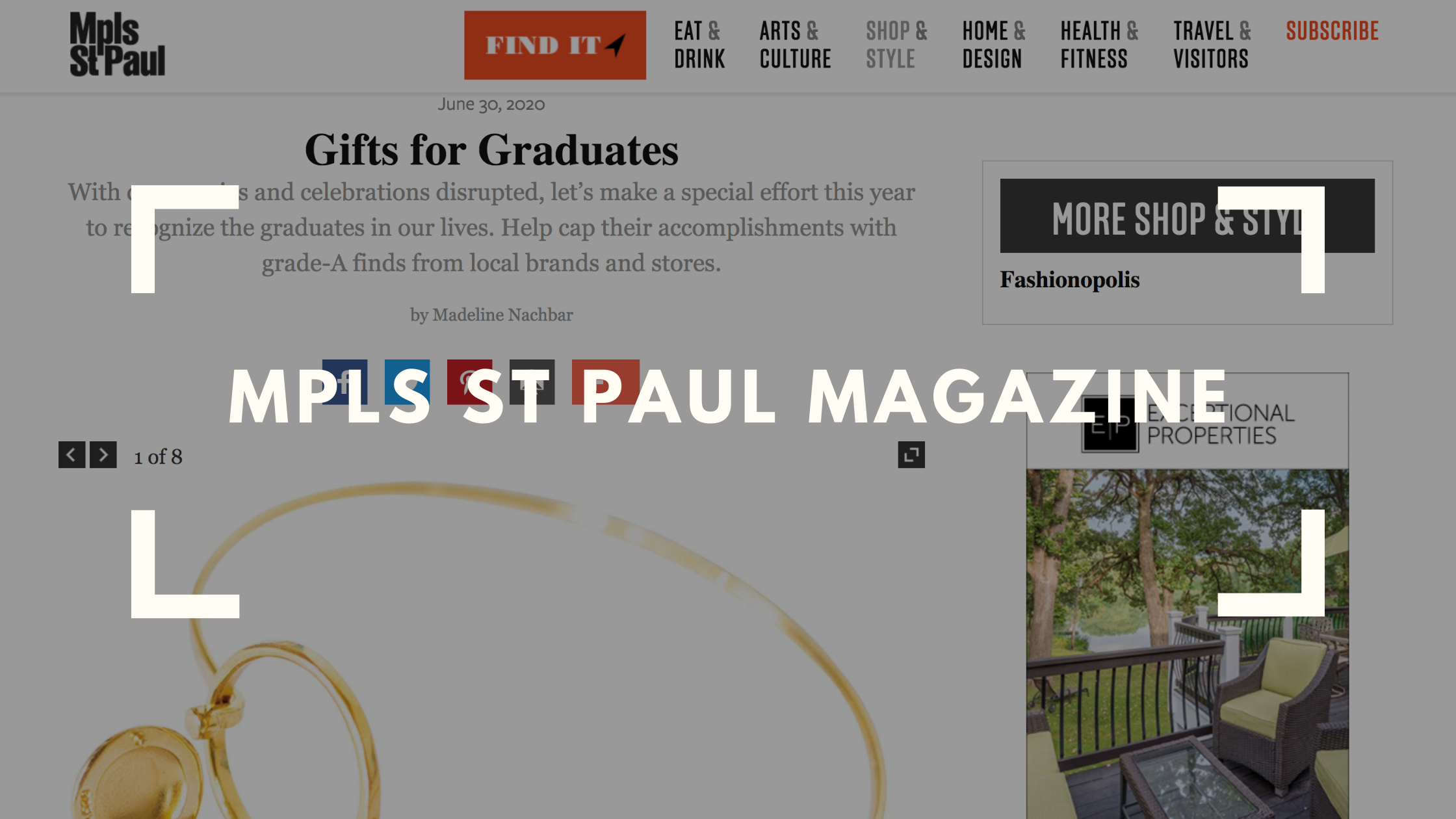 mpls st paul magazine number one recommended gift for graduates