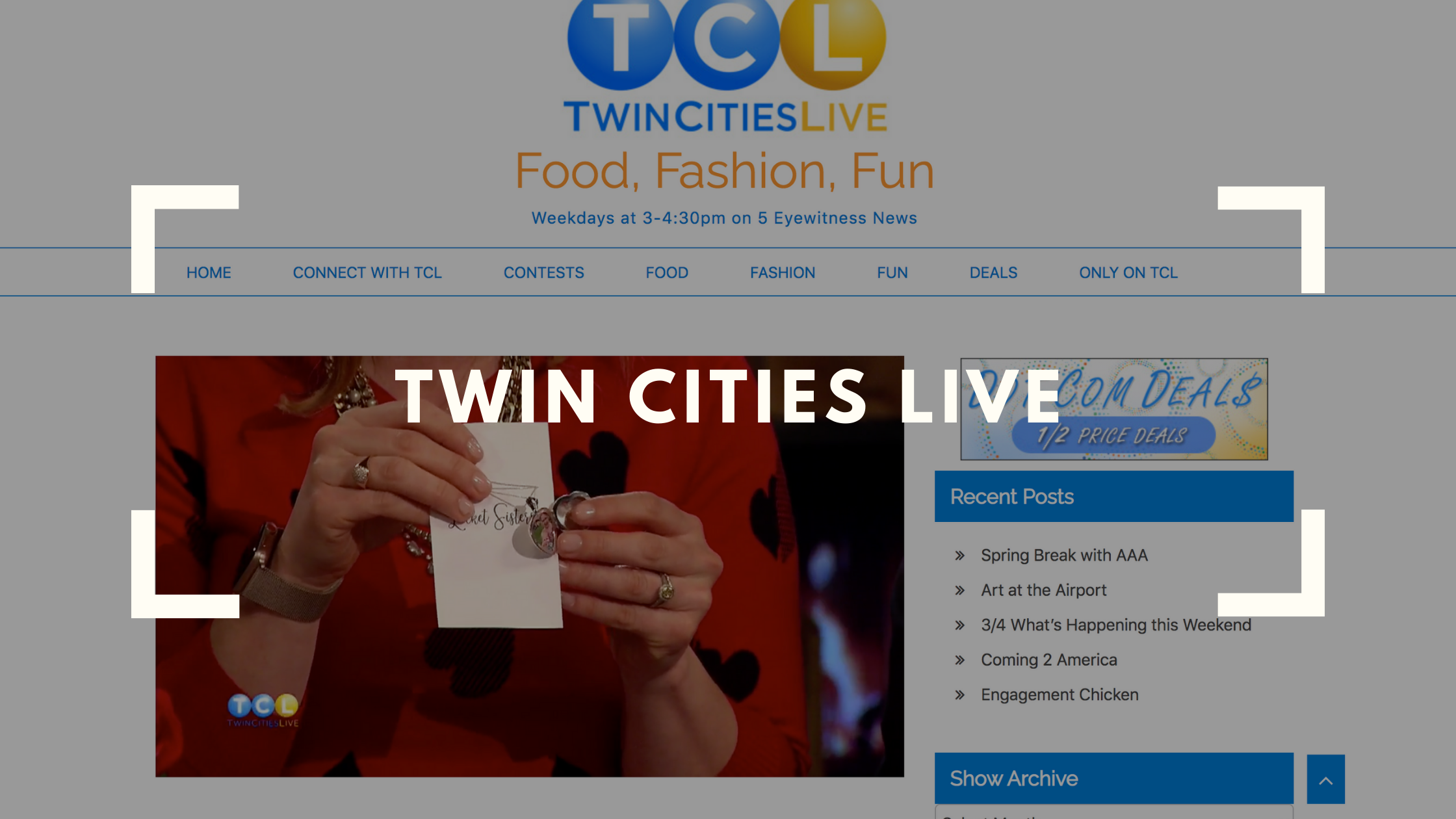 twin cities live the locket sisters gift recommendation for valentines day best of