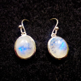 Moonstone Dangle Earrings 1