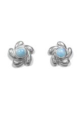 Larimar Stud Earrings 12