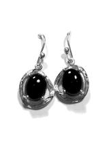 Black Onyx Dangle Earrings 2