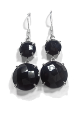 Black Onyx Dangle Earrings 8