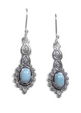 Larimar Dangle Earrings 18