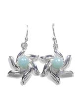 Larimar Dangle Earrings 26