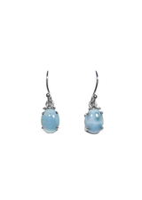 Larimar Dangle Earrings 34