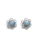 Larimar Stud Earrings 38