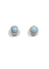 Larimar Stud Earrings 39