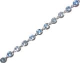 Blue Topaz Bracelet 1
