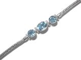 Blue Topaz Bracelet 2