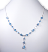 Blue Topaz Necklace 2