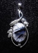 Dendrite Opal Pendant 23