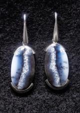 Dendrite Opal Dangle Earrings 23