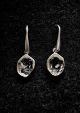 Herkimer Diamond Dangle Earrings 1