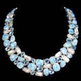 Larimar Necklace 9