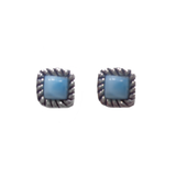 Larimar Stud Earrings 48