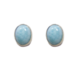 Larimar Stud Earrings 49