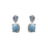 Larimar Stud Earrings 50