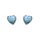 Larimar Stud Earrings 51