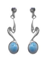 Larimar Dangle Earrings 55