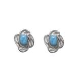 Larimar Stud Earrings 71