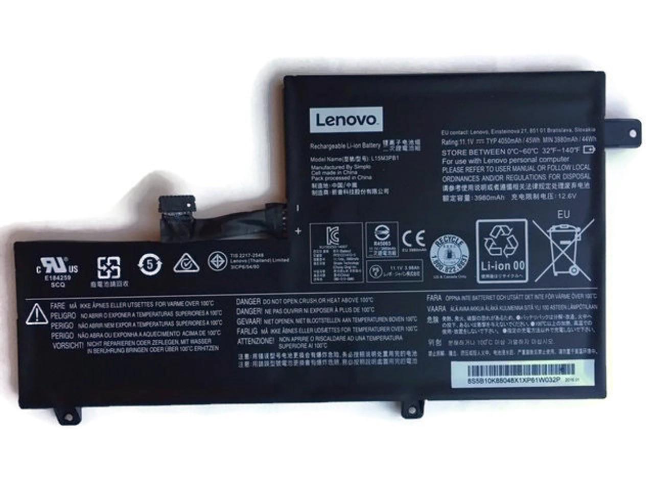 Lenovo N22/N23/N42 Chromebook Battery