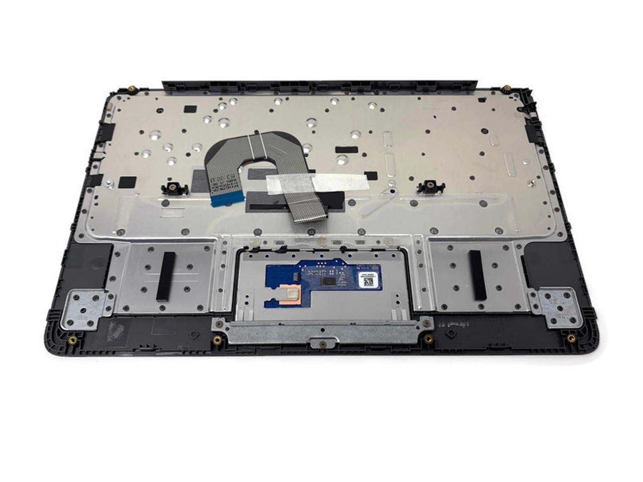 HP 11 G6 EE Chromebook Palmrest w/Keyboard & Trackpad