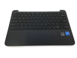HP 11 G5 EE Chromebook Palmrest w/Keyboard & Touchpad