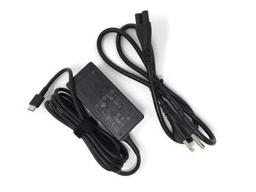 HP Chromebook 45W USB-C AC Adapter