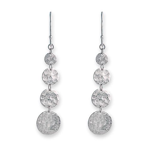 Jingle Hook Earring Silver