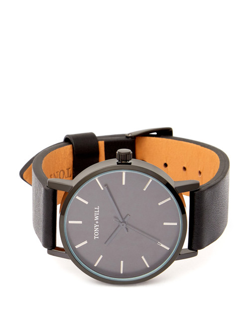 Classic 36mm Black Leather