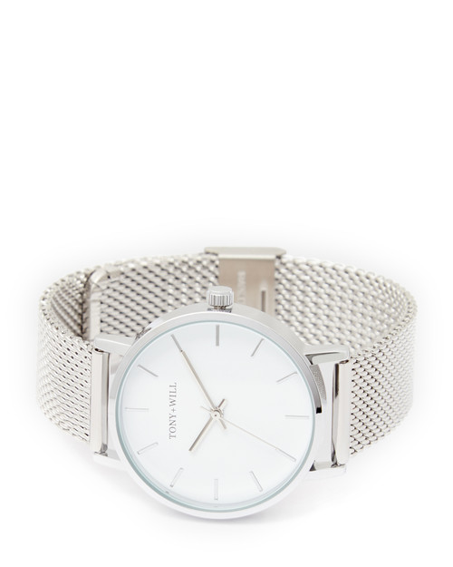 Classic 36mm Silver Mesh