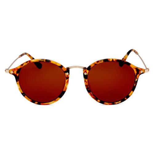 Amazon Polarised Retro Vintage Sunglasses -Tort Brown