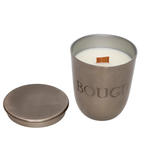 Bougie Antique Silver