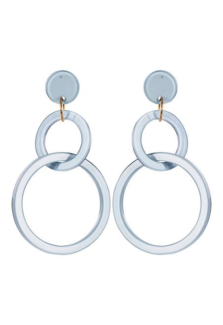 Kana Earrings in Sage