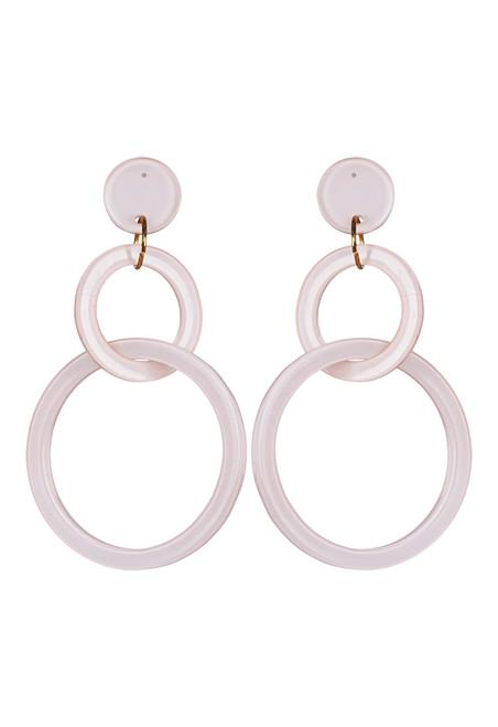 Kana Earrings in Blush