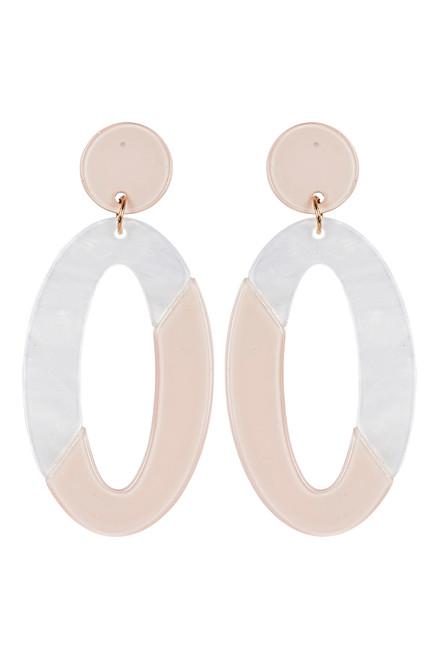 Kana Drop Earrings in Ivory