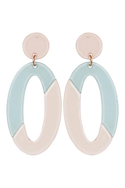 Kana Drop Earrings in Sage