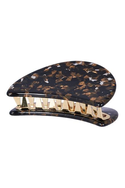 Manyara Mini Claw in Gold Mottle