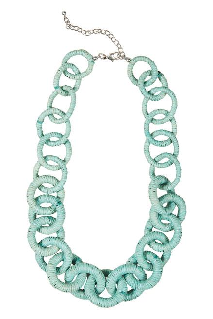 Sabi Link Necklace in Sage
