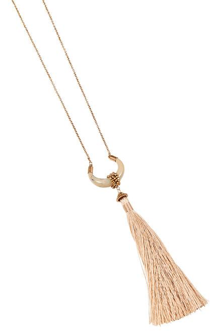 Katavi Moon Necklace in Ivory