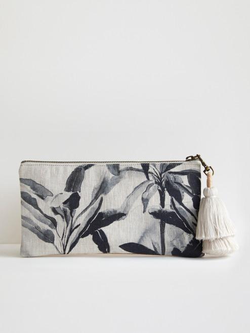 Oasis Linen Clutch