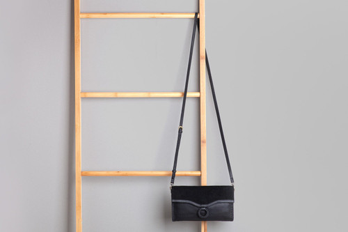 Agnes Clutch Bag Black
