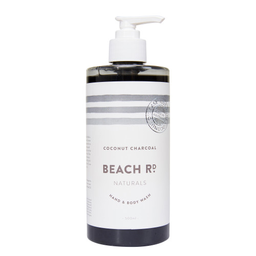 500ml Activated Coconut Charcoal Hand & Body Wash
