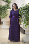 Plum A Night in Paris Dress is the perfect modest bridesmaids dress.