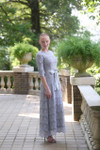 Gray A Night in Paris Dress is the perfect modest bridesmaids dress.