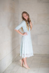Baby Blue A Night in Paris Dress is the perfect modest bridesmaids dress.
