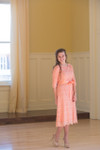 Vintage Rose A Night in Paris Dress is the perfect modest bridesmaids dress.